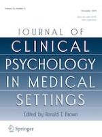 Journal of Clinical Psychology in Medical Settings 4/2019