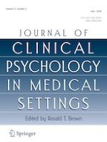 Journal of Clinical Psychology in Medical Settings 2/2020