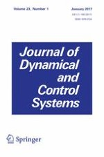 Journal of Dynamical and Control Systems 1/2017