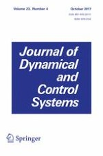 Journal of Dynamical and Control Systems 4/2017