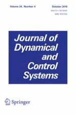 Journal of Dynamical and Control Systems 4/2018