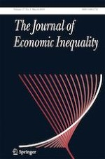 The Journal of Economic Inequality 1/2019