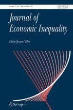 The Journal of Economic Inequality 3/2007