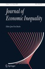 The Journal of Economic Inequality 2/2009