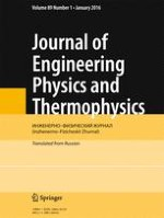 Journal of Engineering Physics and Thermophysics 1/2016