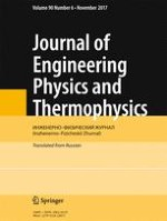 Journal of Engineering Physics and Thermophysics 6/2017