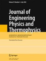 Journal of Engineering Physics and Thermophysics 4/2018
