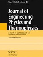 Journal of Engineering Physics and Thermophysics 5/2018