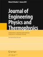 Journal of Engineering Physics and Thermophysics 1/2019