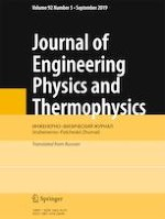 Journal of Engineering Physics and Thermophysics 5/2019