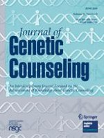 Journal of Genetic Counseling 3/2009