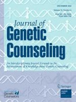Journal of Genetic Counseling 6/2010