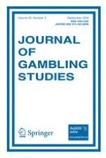 Journal of Gambling Studies 3/2009