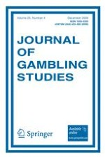 Journal of Gambling Studies 4/2009