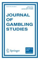 Journal of Gambling Studies 1/2010