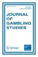 Journal of Gambling Studies 2/2011