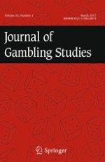 Journal of Gambling Studies 1/2017