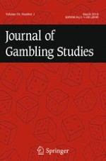 Journal of Gambling Studies 1/2018
