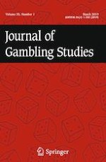 Journal of Gambling Studies 1/2019