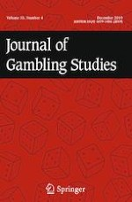 Journal of Gambling Studies 4/2019