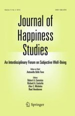 Journal of Happiness Studies 2/2013