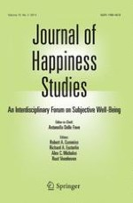 Journal of Happiness Studies 2/2014