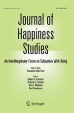 Journal of Happiness Studies 4/2014