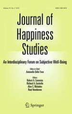 Journal of Happiness Studies 2/2015