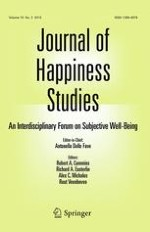 Journal of Happiness Studies 3/2015