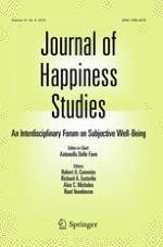Journal of Happiness Studies 6/2015