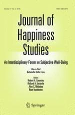 Journal of Happiness Studies 2/2016