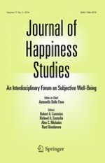 Journal of Happiness Studies 3/2016