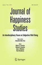 Journal of Happiness Studies 5/2016