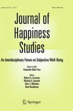 Journal of Happiness Studies 2/2017