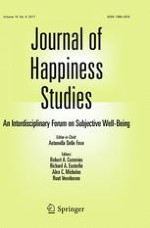 Journal of Happiness Studies 6/2017