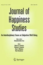 Journal of Happiness Studies 3/2018