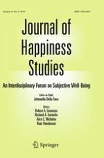 Journal of Happiness Studies 8/2018