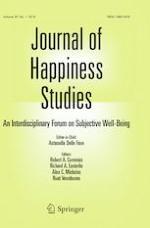 Journal of Happiness Studies 1/2019