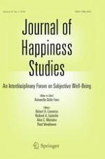 Journal of Happiness Studies 3/2019