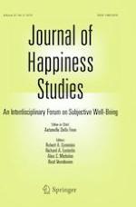 Journal of Happiness Studies 6/2019