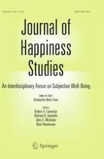 Journal of Happiness Studies 8/2019