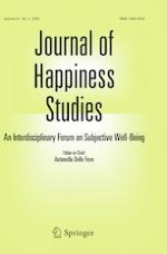 Journal of Happiness Studies 3/2020