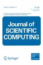 Journal of Scientific Computing 1-3/2006