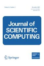Journal of Scientific Computing 3/2009
