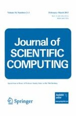 Journal of Scientific Computing 2-3/2013