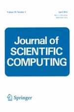 Journal of Scientific Computing 1/2014