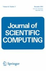 Journal of Scientific Computing 3/2014