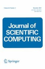 Journal of Scientific Computing 3/2015
