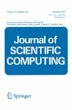 Journal of Scientific Computing 2-3/2017