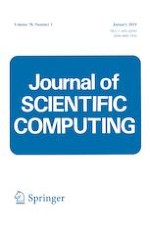 Journal of Scientific Computing 1/2019